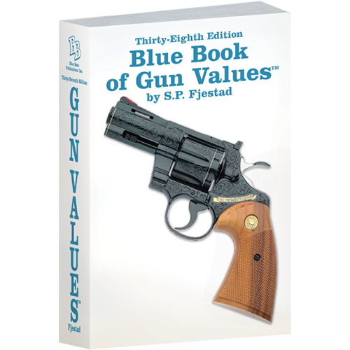 The Blue Book of Gun Values 38th Edition